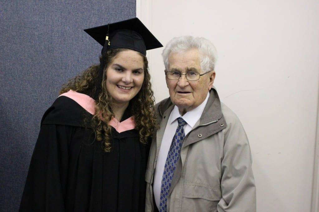 Even Grandpa came