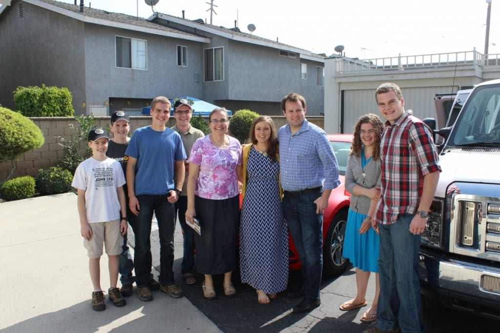 the Derksens with the Duggars