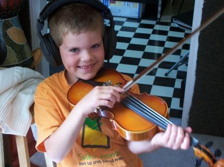 Recording Violin